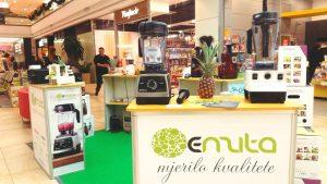 Vitamix ekipa u Splitu – Božićni sajam u Mall of Split