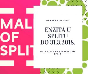 Enzita tim u Mall of Split