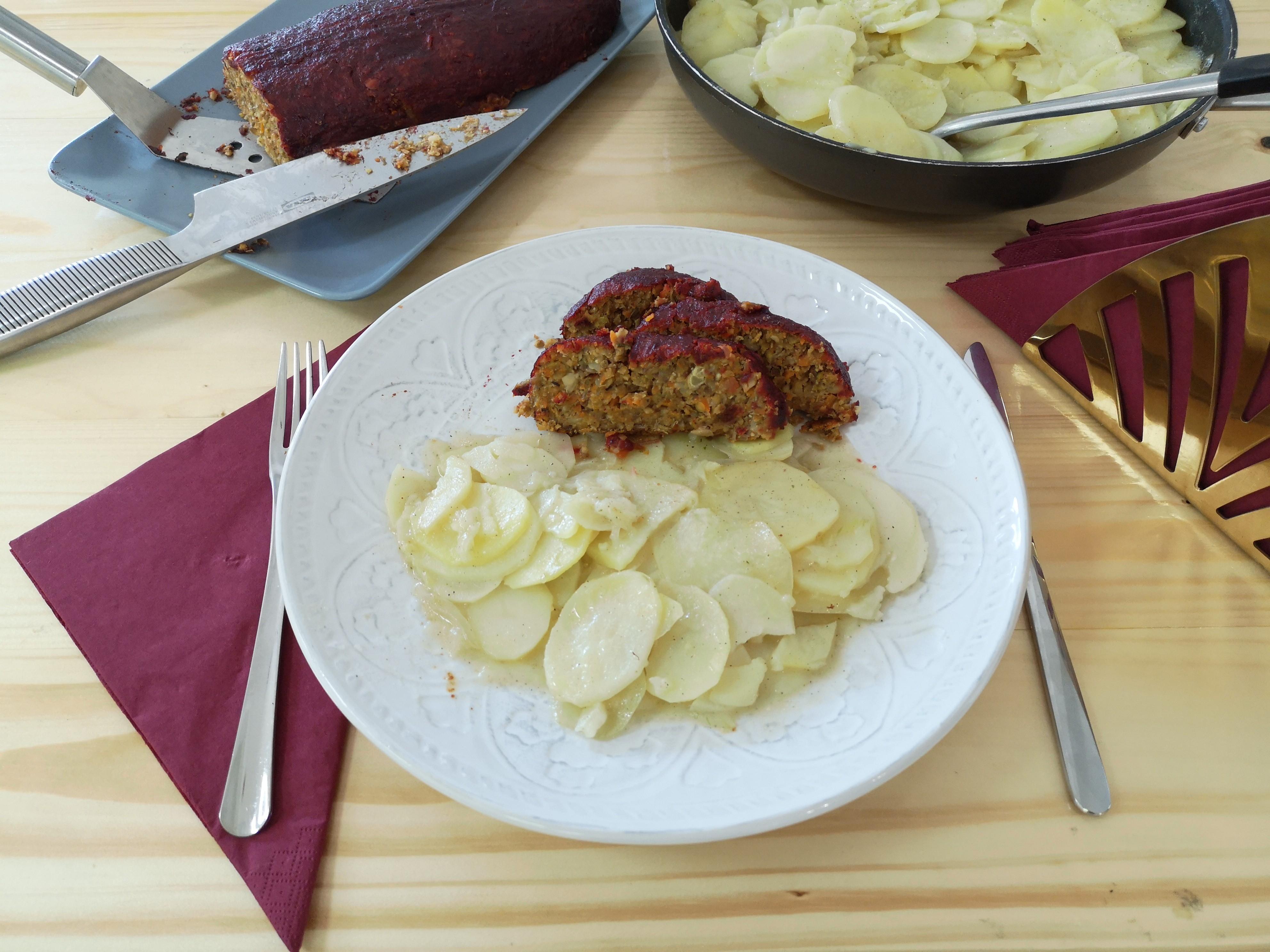Kad ti pećnica pokloni 30 minuta ili Štruca od gljiva i leće s finim krumpirom – Dan 10.