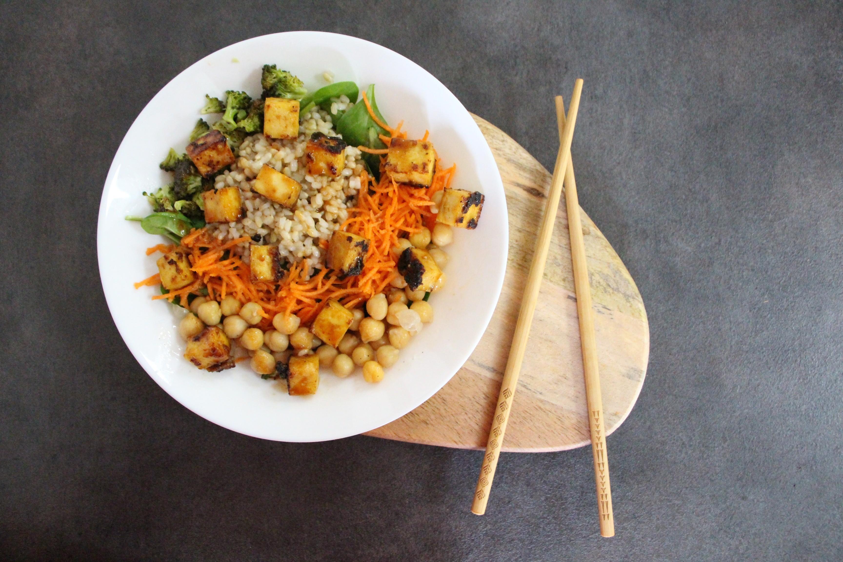 Brzi ručak ili Zdjelica tofua – Dan 9.