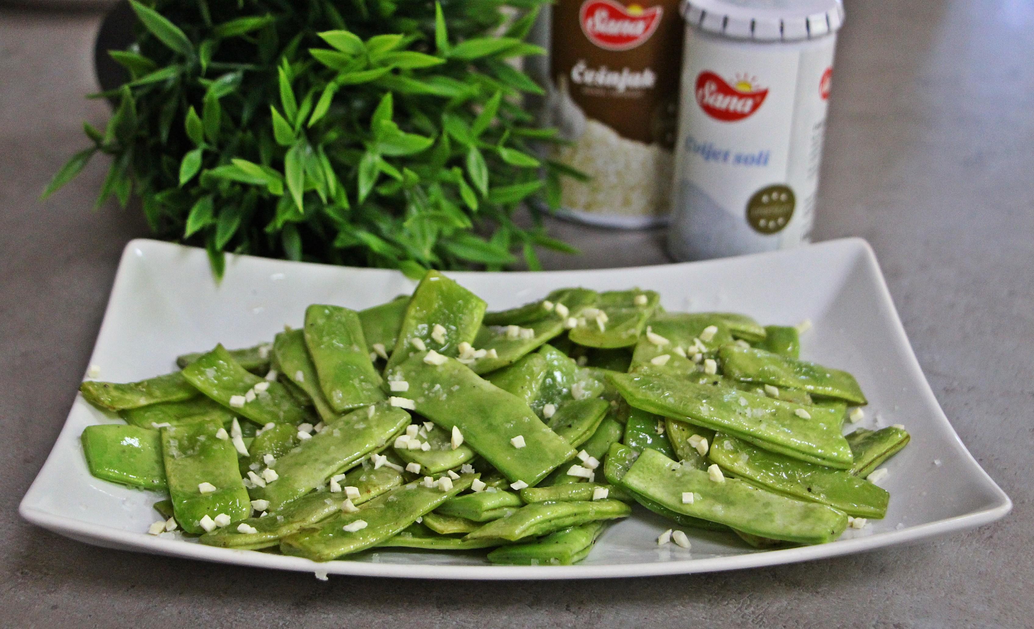 Nešto što sam jela u Španjolskoj ili Zelene mahune s češnjakom – Dan 18.