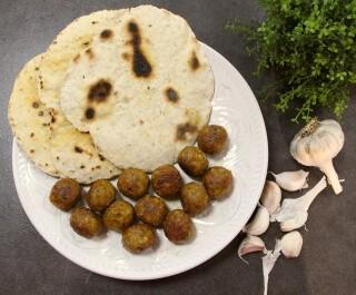 Pravi izazov ili Lepinjice s biljem i češnjakom (+Falafel u sljedećoj objavi)
