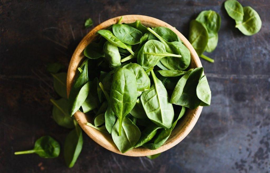špinat, zeleno povrće, zeleno lisnato povrće