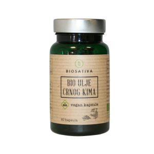 BIO kapsule ulja Crnog Kima (Nigella Sativa) 60 kapsula